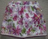 Handmade Skirt - flower fairies