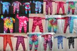 Baby tie dye sleepsuits