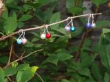 Glass Pearl knitting Stitch markers