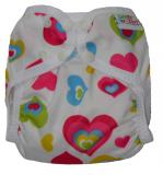 Little Comfort Funky Nappy Wraps - Multi-colour Hearts