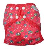Little Comfort Funky Nappy Wraps - Mushrooms