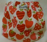 Zookies Printed wrap - Strawberry Fields