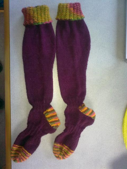 Free Knitting Pattern For Welly Socks : Custom hand knitted welly boot socks! by Little Pants ...