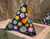 Peace Flower Menstrual Cup Pouch